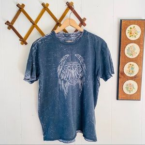 Affliction Reversible Graphic Tee